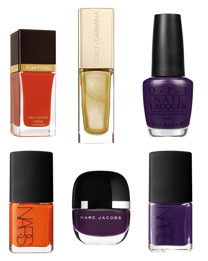 Nail polish:Our top 10 colours for fall - Marie France Asia, women\'s ...