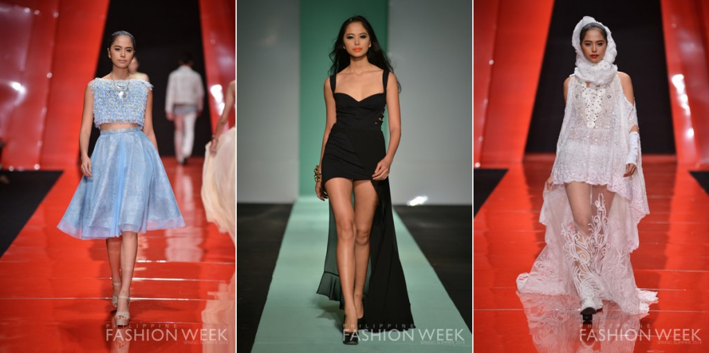 Philippine Fashion Week 2014 Introducing 5 Filipina Models Marie France Asia Women 39 S Magazine