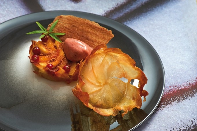 Recipe: Apples, Orange and Chestnut Crumble Tartlet ...