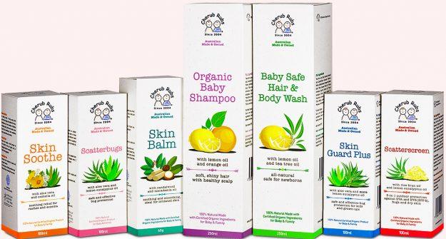 organic baby skincare